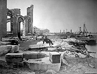 Ruins of Norfolk Navy Yard.  December 1864. James Gardner. (War Dept.)<br /> Exact Date Shot Unknown<br /> NARA FILE #: 165-SB-18<br /> WAR &amp; CONFLICT BOOK #:  247