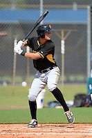 Pittsburgh Pirates third baseman Sam Kennelly (14) during an Instructional League game against the Tampa Bay Rays on September 27, 2014 at the Charlotte Sports Park in Port Charlotte, Florida.  (Mike Janes/Four Seam Images)