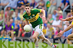 Paul Geaney Kerry in action against Dean Ryan Clare in the Munster Senior Championship Semi Final in Cusack Park, Ennis on Sunday.
