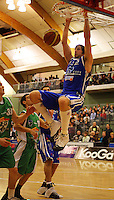 Kevin Owens slam-dunks.<br />