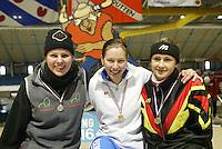 SCHAATSEN: HEERENVEEN: IJsstadion Thialf, 13-03-2004, VikingRace, Janneke Ensing (NED), ©foto Martin de Jong