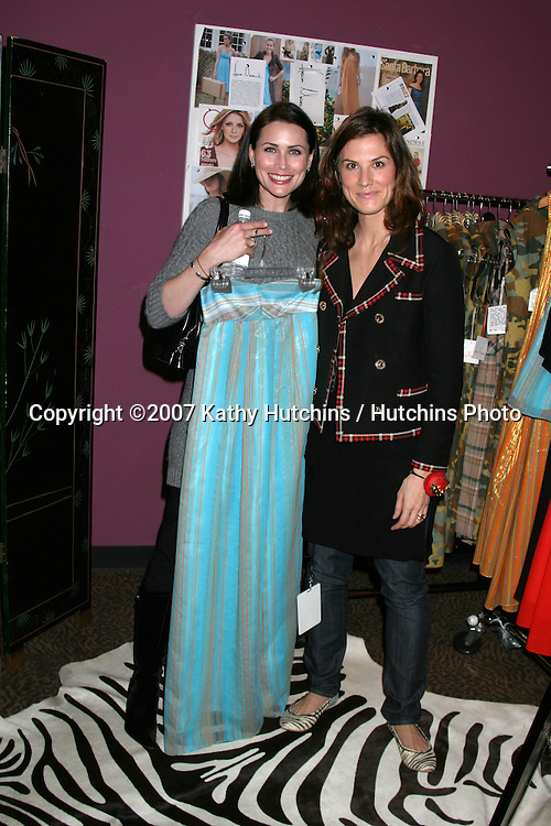"Rena Sofer.""Heroes"" and ""24"".GBK Productions Golden Globe Gifting Suite.Friar's Club.Beverly Hills   CA.January 11, 2007.©2007 Kathy Hutchins / Hutchins Photo."