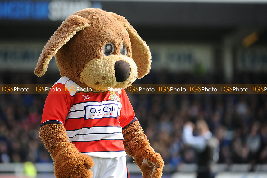 Doncaster Rovers mascot before kick off during Hartlepool United vs Doncaster Rovers, Sky Bet EFL League 2 Football at Victoria Park on 6th May 2017