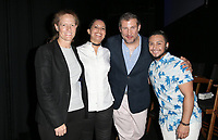 """LOS ANGELES, CA- Kerri Stoughton-Jackson, Lucy Mukerjee-Brown, Christopher Racster, Kieran Medina, At 2017 Outfest Los Angeles LGBT Film Festival - Closing Night Gala Screening Of """"Freak Show"""" at The Theatre at Ace Hotel, California on July 16, 2017. Credit: Faye Sadou/MediaPunch"""