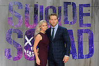 LONDON, ENGLAND - AUGUST 3: Mecki Dent and Jai Courtney attending the 'Suicide Squad' European Premiere at Odeon Cinema, Leicester Square on August 3, 2016 in London, England.<br /> CAP/MAR<br /> &copy;MAR/Capital Pictures /MediaPunch ***NORTH AND SOUTH AMERICAS ONLY***