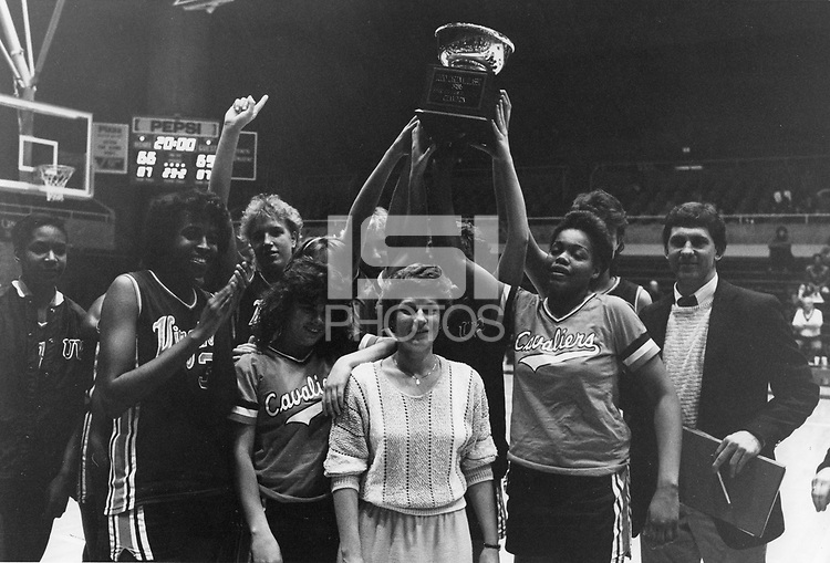 29 December 1986: Lucky Cardinal Classic, Tournament Champions Virginia Cavaliers.