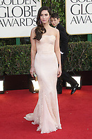 BEVERLY HILLS, CA - JANUARY 13: Megan Fox at the 70th Annual Golden Globe Awards at the Beverly Hills Hilton Hotel in Beverly Hills, California. January 13, 2013. Credit: mpi29/MediaPunch Inc. /NortePhoto
