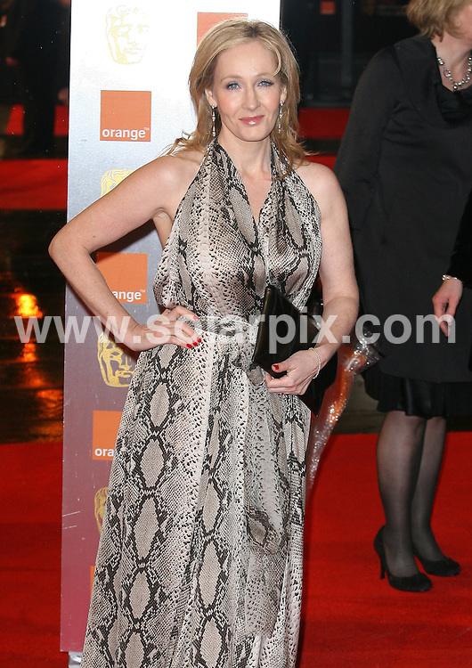 **ALL ROUND PICTURES FROM SOLARPIX.COM**                                             **WORLDWIDE SYNDICATION RIGHTS**                                                                                  Arrivals to the Orange British Academy Film Awards held at The Royal Opera House on February 13, 2011 in London                                                                          .This pic:    JK Rowling                                                                                    JOB REF:   12788     LNJ       DATE:   13.02.11                                                         **MUST CREDIT SOLARPIX.COM OR DOUBLE FEE WILL BE CHARGED**                                                                      **MUST AGREE FEE BEFORE ONLINE USAGE**                               **CALL US ON: +34 952 811 768 or LOW RATE FROM UK 0844 617 7637**