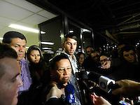 SAO PAULO - SP - 27 DE SETEMBRO DE 2013 - CASO FRIBOI. Carlos Eduardo Campos Magalhães, filho de Giselma que foi condenada a 22 anos e seis meses de prisão. Como já ficou mais de um ano presa pelo crime, a pena a ser cumprida ficou em 21 anos e 1 dia de detenção. Apesar da sentença, ela não irá para a prisão agora por causa de uma decisão do Supremo Tribunal Federal (STF) que permitiu à ré ficar em liberdade enquanto o processo é julgado. (Foto: Mauricio Camargo/Brazil Photo Press)