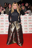 Katie Price<br /> at the National TV Awards 2017 held at the O2 Arena, Greenwich, London.<br /> <br /> <br /> &copy;Ash Knotek  D3221  25/01/2017