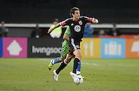 D.C. United defender Dejan Jakovic (5) D.C. United tied the Seattle Sounders, 0-0 at RFK Stadium, Saturday April 7, 2012.