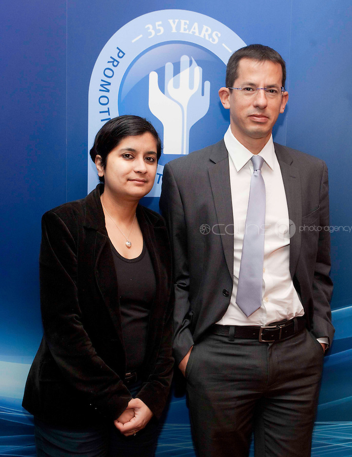 "*** NO FEE PIC***.16/12/2011.(L to R).Shami Chakrabarti Director Liberty,.Hagai El- AD Executive Director Association for Civil Rights in Israel (ACRI)..during the ""The Future of Human Rights Global Techniques Securing Local Impact"" international seminar at The Westbury Hotel, Dublin..Photo: Gareth Chaney Collins"