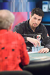 """Brad """"Yukon"""" Booth stares down Boutin."""