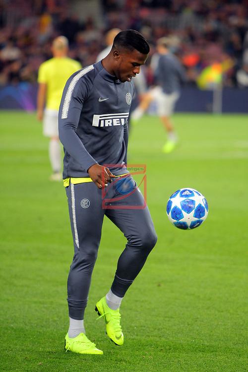 UEFA Champions League 2018/2019 - Matchday 3.<br /> FC Barcelona vs FC Internazionale Milano: 2-0.<br /> Keita Balde.