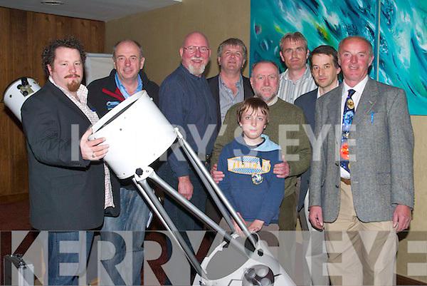 ASTRONOMY: Speaking at the Kerry Astronomy at the Manor West Hotel Tralee was Leo Enright and special guest Pat Falvey. l-r: Trevor O'Donoghue,Pat Falvey,Leo Enright,Tony Curran,marcus O'Brien,Enda O'Brien,paddy Stack,Michael Scully and Kevin Lawlor...TREATY: Seakers at the Meadowlands Hotel Tralee on Thursday evening on the Lisbon Treaty, werel-r: Denis O'Connor(Tralee), Kitty Sinnott(MEP) and Jens-Peter Bonde(MEP) ......   Copyright Kerry's Eye 2008