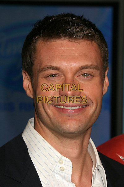 "RYAN SEACREST.""American Idol"" Season 6 Top 12 Finalists Party at Astra West/Pacific Design Center, West Hollywood, California, USA, 8 March 2007..portrait headshot.CAP/ADM/BP.©Byron Purvis/AdMedia/Capital Pictures."