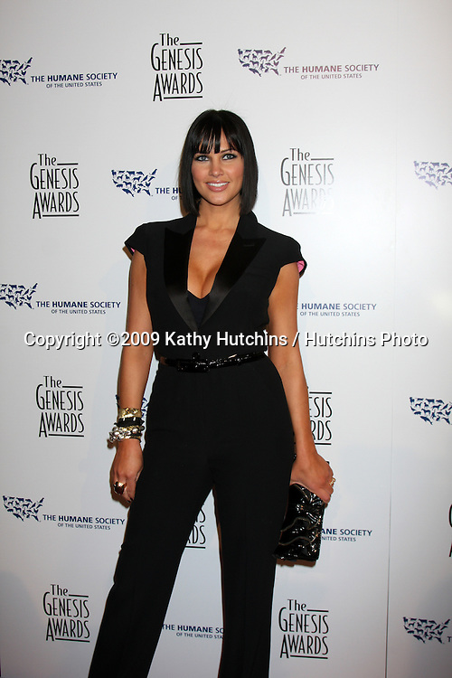 Tiffany Fallon arriving at the Genesis Awads at the Beverly Hilton Hotel in Beverly Hills, CA  on March 28, 2009.©2009 Kathy Hutchins / Hutchins Photo....                .