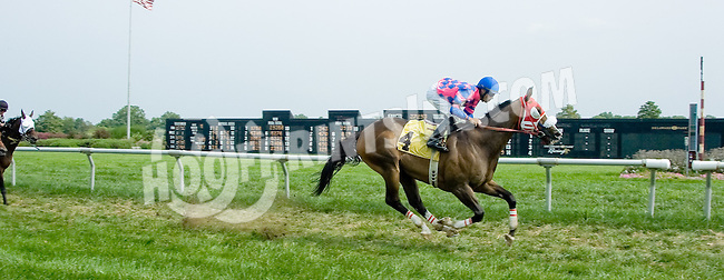 Rescator winning at Delaware Park on 9/1/12