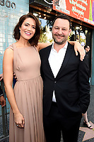 HOLLYWOOD, CA - MARCH 25: Dan Fogelman and Mandy Moore at the Mandy Moore star ceremony on the Hollywood Walk of Fame on March 25, 2019 in Hollywood, California. (Photo by Frank Micelotta/20th Century Fox Television/PictureGroup)