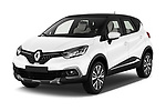 2017 Renault Capture Initiale Paris 5 Door SUV angular front stock photos of front three quarter view
