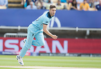 Chris Woakes (England) in action during Australia vs England, ICC World Cup Semi-Final Cricket at Edgbaston Stadium on 11th July 2019