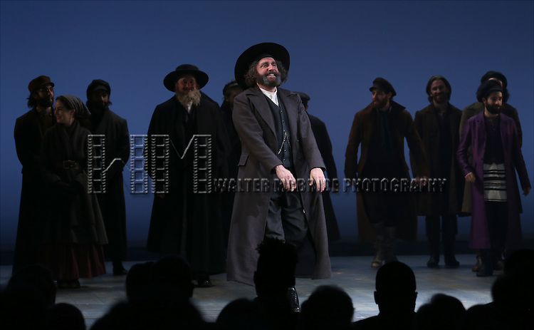 Adam Dannheisser during the Broadway Opening Night Performance Curtain Call bows for 'Fiddler On The Roof'  at the Broadway Theatre on December 20, 2015 in New York City.