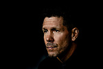 Head Coach Diego Simeone of Atletico de Madrid during their La Liga  2018-19 match between Real Madrid CF and Atletico de Madrid at Santiago Bernabeu on September 29 2018 in Madrid, Spain. Photo by Diego Souto / Power Sport Images