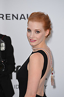 Jessica Chastain at the 24th amfAR Gala Cannes at the Hotel du Cap-Eden-Roc, Antibes, France. 25 May 2017<br /> Picture: Paul Smith/Featureflash/SilverHub 0208 004 5359 sales@silverhubmedia.com