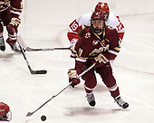 Caitrin Lonergan (BC - 11) - The Boston College Eagles defeated the Boston University Terriers 3-2 in the first round of the Beanpot on Monday, January 31, 2017, at Matthews Arena in Boston, Massachusetts.