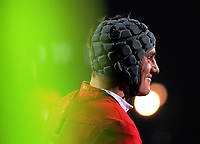 Jonathan Davies waits for a set piece during the 2017 DHL Lions Series rugby union match between the NZ Maori and British & Irish Lions at Rotorua International Stadium in Rotorua, New Zealand on Saturday, 17 June 2017. Photo: Dave Lintott / lintottphoto.co.nz