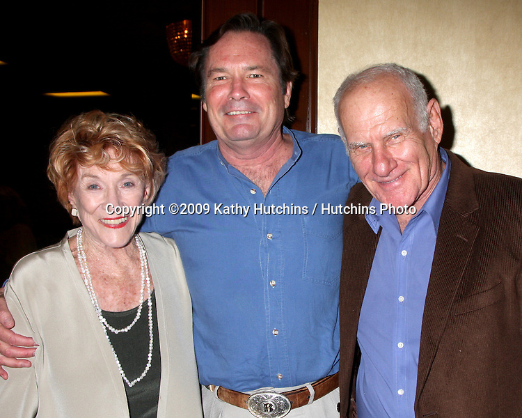 Jeanne Cooper, Beau Kayzer, & Michael Fairman at  The Young & the Restless Fan Club Dinner  at the Sheraton Universal Hotel in  Los Angeles, CA on August 28, 2009.©2009 Kathy Hutchins / Hutchins Photo.