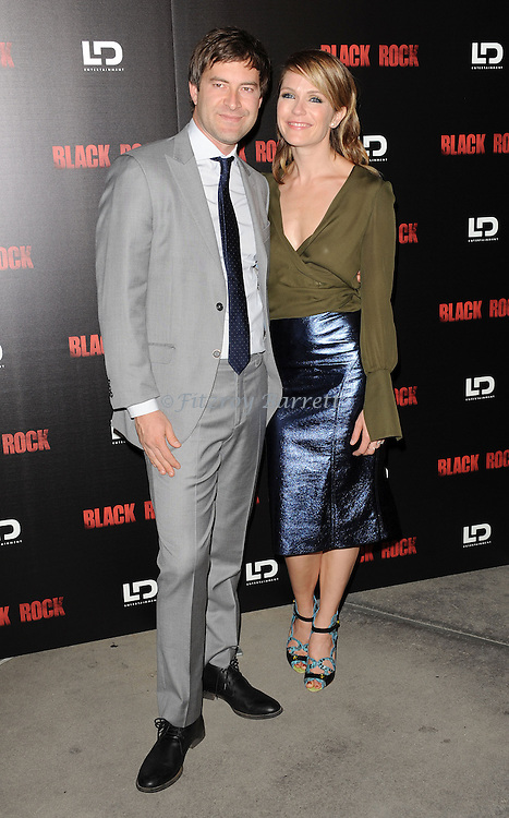 "Mark Duplass and Katie Aselton at the screening of ""Black Rock"" held at the Arclight Theatre in Los Angeles, CA. on May 8, 2013."