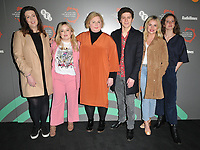 Lisa McGee, Nicola Coughlan, Siobhan McSweeney, Dylan Llewellyn, Saoirse-Monica Jackson and Louisa Harland at the &quot;Derry Girl&quot; BFI &amp; Radio Times Television Festival screening, BFI Southbank, Belvedere Road, London, England, UK, on Sunday 14th April 2019.<br /> CAP/CAN<br /> &copy;CAN/Capital Pictures