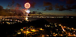 4th of July 2013 fireworks at Kailua Oahu