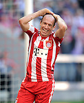 Fussball Bundesliga 2010/11: FC Bayern Muenchen - Borussia Moenchengladbach