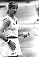 CHRIS EVERT (USA)<br /> Wimbledon 1981Chris Evert (USA)<br /> Copyright Michael Cole