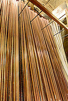 Copper Pipe Rack at Home Improvement Store