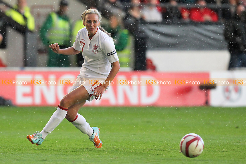Toni Duggan makes her England debut - England Women vs Croatia Women - UEFA Womens Euro 2013 Group 6 Qualifier Football at Banks's Stadium, Walsall - 19/09/12 - MANDATORY CREDIT: Gavin Ellis/TGSPHOTO - Self billing applies where appropriate - 0845 094 6026 - contact@tgsphoto.co.uk - NO UNPAID USE.