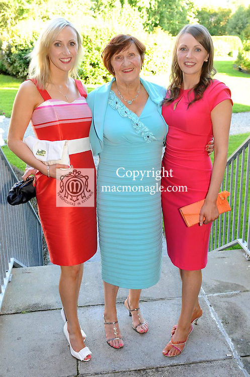 Marguerite, Tess and  Muiriosa Fitzgerald, Cordal, at the Ladies Day Soirée after race party in The Malton Hotel, Killarney on Thursday night.  Picture: Eamonn Keogh (MacMonagle, Killarney)