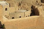 The Greek Orthodox Mar Saba monastery in the Judean Desert
