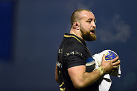 Tom Dunn of Bath Rugby. European Rugby Champions Cup match, between Benetton Rugby and Bath Rugby on January 20, 2018 at the Municipal Stadium of Monigo in Treviso, Italy. Photo by: Patrick Khachfe / Onside Images