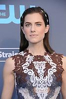 11 January 2018 - Santa Monica, California - Allison Williams. 23rd Annual Critics' Choice Awards held at Barker Hangar. <br /> CAP/ADM/BT<br /> &copy;BT/ADM/Capital Pictures