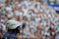 SÃO PAULO,SP, 05.02.2017 - PALMEIRAS-BOTAFOGO-SP – Policiais Militares observam a Torcida do Palmeiras durante partida contra o Botafogo-SP, válida pela primeira rodada do Campeonato Paulista 2017, disputada na Arena Allianz Parque em São Paulo, na tarde deste domingo, 05. (Foto: Levi Bianco/Brazil Photo Press)