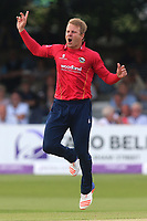 Neil Wagner of Essex goes close to a wicket during Essex Eagles vs Notts Outlaws, Royal London One-Day Cup Semi-Final Cricket at The Cloudfm County Ground on 16th June 2017