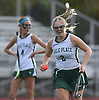 Skylar Reed #2 of Carle Place gets ready to make a corner pass during the Nassau County varsity field hockey Class C final against Oyster Bay at Berner Middle School in Massapequa on Sunday, Oct. 28, 2018. She scored three goals in the first half and another in the second half.