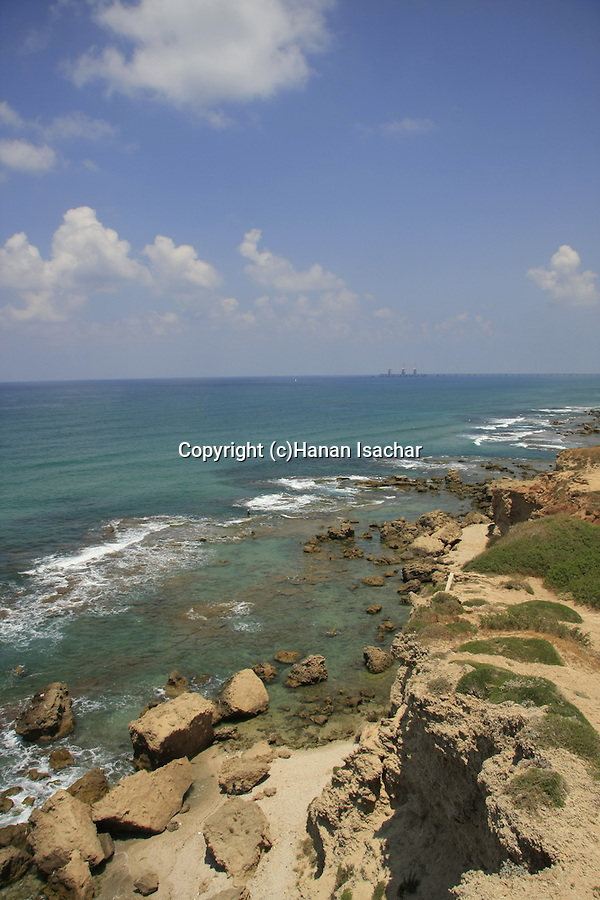 Israel, Sharon region, a view from Tel Gdor