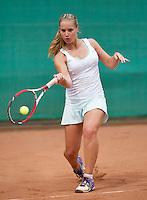 August 12, 2014, Netherlands, Raalte, TV Ramele, Tennis, National Championships, NRTK,  Inger van Dijkman (NED)<br /> Photo: Tennisimages/Henk Koster
