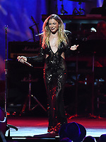 LOS ANGELES - JANUARY 24:  LeAnn Rimes performs on the 2020 MusiCares Person of the Year tribute concert honoring Aerosmith on January 24, 2020 in Los Angeles, California. (Photo by Frank Micelotta/PictureGroup)