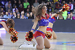 09.01.2015 Barcelona. Euroleague top 16. Picture show dreamcheers in action during game betwenn FC Barcelona against Panathinaikos at Palau Blaugrana