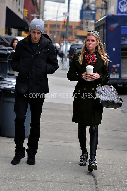 WWW.ACEPIXS.COM....March 21 2013, New York City....Nicky Hilton and her boyfriend James Rothschild stroll in Soho on March 21 2013 in New York City....By Line: Curtis Means/ACE Pictures......ACE Pictures, Inc...tel: 646 769 0430..Email: info@acepixs.com..www.acepixs.com
